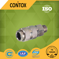 C208 high quality Euro universal style male threaded fittings quick pneumatic coupler