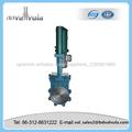 hidráulica eléctrico válvula de guillotina