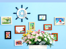 European french wall picture 12 frame with custom design