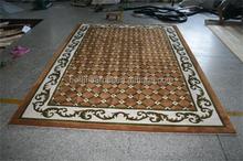 Hand make NZ wool flower rug