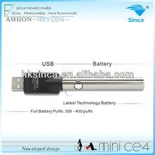 2013 new products electronic cigarette mini CE4 / 510 e smart e cigaretter CE4 e-cigarett