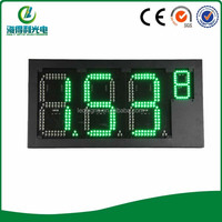 New priduct gas station environmental gas price board