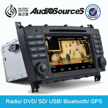 Made in China factory 2 din car dvd player for W203 / CLK-W209 / CLK-W2019 with gps navigation bluetooth audio DVD HD video USB
