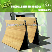 wood case bamboo cover for Ipad3/4