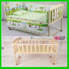 Cheap export baby beds with drop side