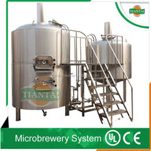 7 bbL turnkey beer brewing system equipment/ automated brewing system