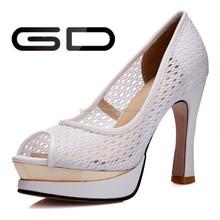GD double platform sandals grenadine upper for lady