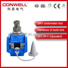 electrical low voltage piercing clamps insulation piercing waterproof connectors