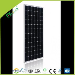 72 cells solar photovoltaic module with Mono 200w solar panel application for home system