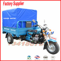 Guang zhou factory kavaki motor sell to afirca motor tricycle for cargo made in china