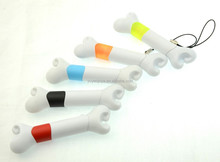 multi-color lanyard stylish dog bone shape ball pen