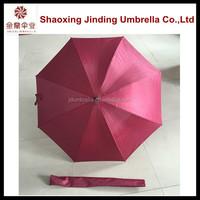 Golf umbrella with fan Straight Umbrella in stock