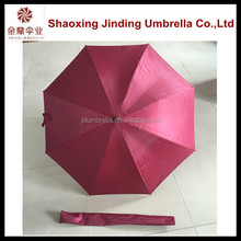 Golf umbrella with fan Straight Umbrella in stock