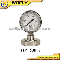 Price of Stainless Steel Bourdon Tube Gas Pressure Gauge