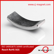 n35 rare earth Arc Shape and Permanent Type Wind Tubrine Magnet