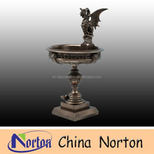 large metal customized flower pot bronze fountain NTBF-L192S
