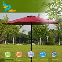 2015 Red Waterproof Bench Garden Outdoor Patio Furniture Cantilever Patio Umbrella