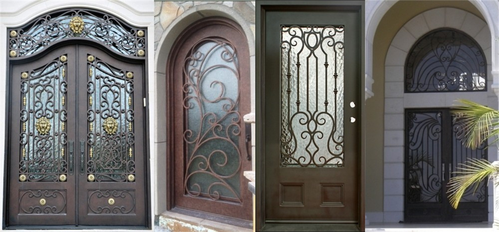 Good Cheap Wrought Single Iron Entry Gate Door Prices Buy Iron