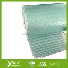Anti-glare Aluminum Woven Fabric Bubble Foil insulation for basements