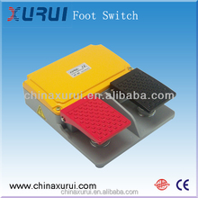 waterproof Slow action type Foot Switch / Electric Foot Switch China Supplier