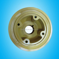 double wheel wire rope sheave pulley block