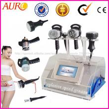 4 en 1 Ultrasoun cavitación vacío Máquina de salón de belleza para adelgazar rf con la venta superior de la Au-46
