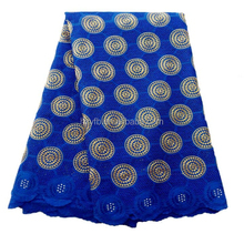 Special designs embroidery on polyester fabric / Cotton african lace embroidery / Popular swiss voile lace fabrics for clothes