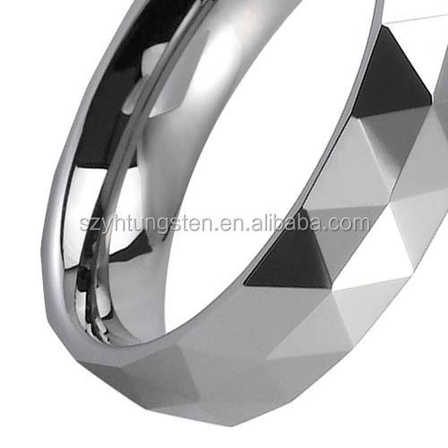 Nep Diamanten Ring Diamanten Ring Koolstofvezel