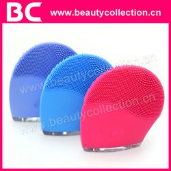 BC-1329 Professional Ultrasonic Facial Cleansing Brush Vibrating Silicone Facial Device
