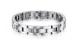 Top level crazy selling magnetic golf bracelets for men