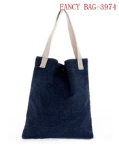 Fashionable jeans hobo bag manufacture