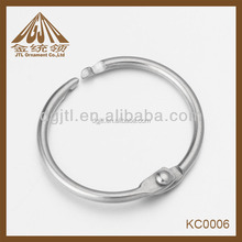 2015 promotional Book keyring Metal album ring Loose Leaf Binder Rings