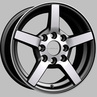 4,5,8,10 Hole and 16-20 Inch Diameter replica alloy wheels(ZW-XJ085)
