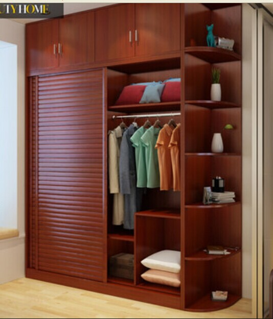 Puertas correderas para dormitorios dise os for Closet de madera para dormitorios