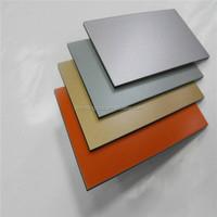 Building materials 3mm/4mm Aluminum Composite Panel for Shopfront Billboard Advertisement board