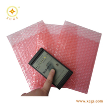DIY make in China Clear anti-static PE air double bubble film bags for packaging