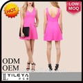 verano 2015 vestidos de moda modelo nuevo de la moda de las señoras vestido