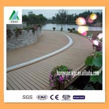 wpc flooring outdoor / wpc tiles/ plastic wood floor Modern house design good price easy install