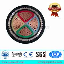bajo precio de alta calidad directos de fábrica suppory CU/PVC/SWA/PVC del cable de alimentación