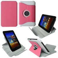 New Arrival for Sumsung Galaxy Tab p6200 7.0'' case leather/pu 360 rotating