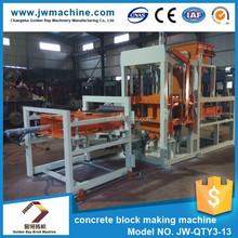 Trade assurance block machine supplier concrete plan hollow block machine