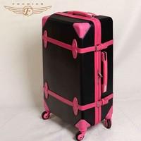 Popular style vintage trolley luggage