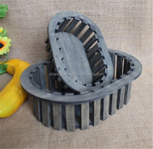 Oval handmade grey vintage used wooden orange crates wholesale