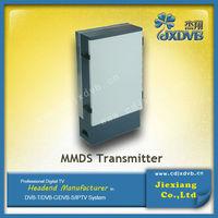 Long Distance used broadcast equipment Transmitter Wireless Digital MMDS TV transmitter for sale