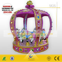 New products mini fairground ride/ small carousel/carousel kids ride for sale