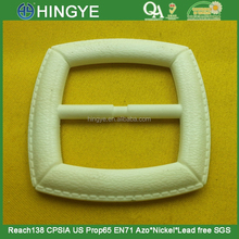 White Color Plastic Square Buckles For Waistband Belt -- PD2739