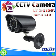 "Color 1/3"" CMOS 800TVL IR-Cut digitech security Camera"