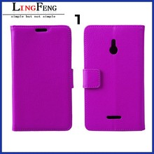 Aibaba China supplier wholesale leather flip phone case for nokia xl