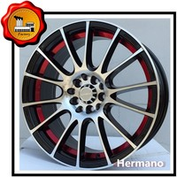 16 inch rims canada 4*110 pcd with sliver color 10 spokes
