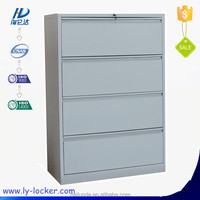 4 Tiers Drawers Office Filing Steel Cabinet from China